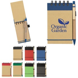 Eco Friendly Jotter and Pen (65 Sheets)