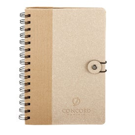 Monogrammed Eco Journal