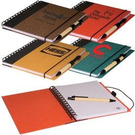 Monogrammed Eco Journal Book Combo