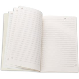Monogrammed Eco Friendly Notebook