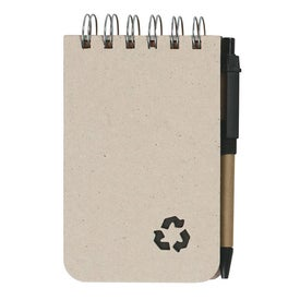 Eco Rich Spiral Jotter and Pen for Customization