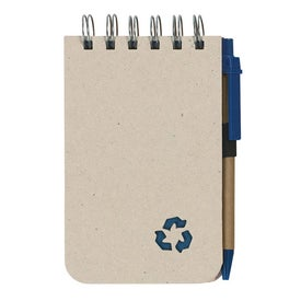 Eco Rich Spiral Jotter and Pen for Your Organization