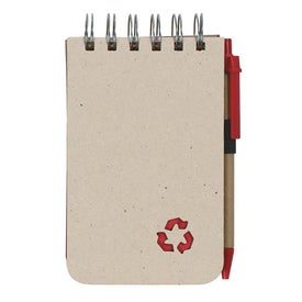 Eco Rich Spiral Jotter and Pen Giveaways