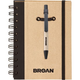 Company Eco Spiral Hard Cover Journal Combo-Colorplay