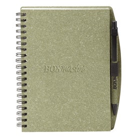 Ecologist Hard Cover Notebook Combo Printed with Your Logo
