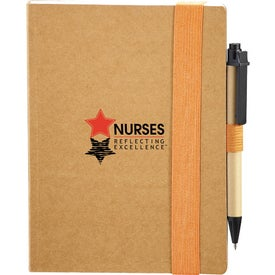Logo Eco Perfect Bound Notebook and Pen