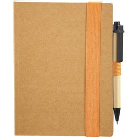 Custom Eco Perfect Bound Notebook and Pen