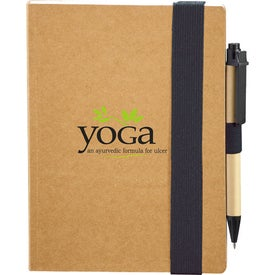 Eco Perfect Bound Notebook and Pen for Your Church