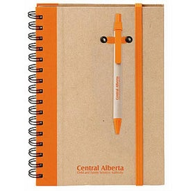 Monogrammed Eco Hard Cover Journal Combo - Colorplay