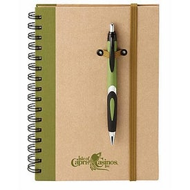 Eco Spiral Hard Cover Journal Combo for Advertising