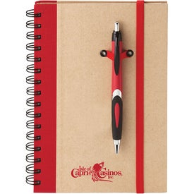Eco Spiral Hard Cover Journal Combo for Your Company