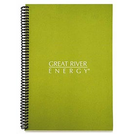 Imprinted Eco Spiral Notebook - Colorplay