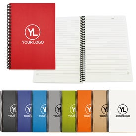 """Eco Spiral Notebook - Colorplay (6"""" x 9"""")"""