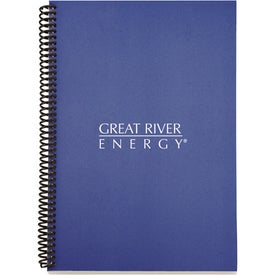 Branded Eco Spiral Notebook - Colorplay