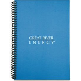 Personalized Eco Spiral Notebook - Colorplay