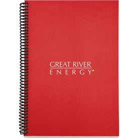 Advertising Eco Spiral Notebook - Colorplay