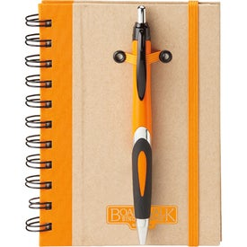 Eco Spiral Hard Cover Journal Combo for your School
