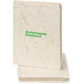Elephant Poo Poo Paper Notebook Imprinted with Your Logo