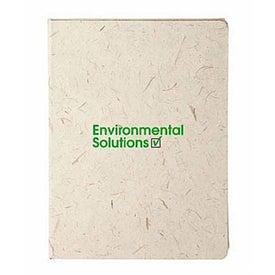 Monogrammed Elephant Poo Poo Paper Notebook