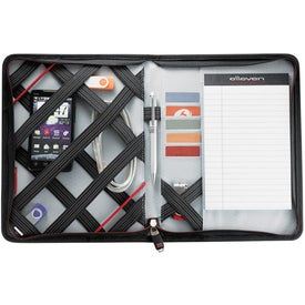 Elleven Jr. Zippered Padfolio for iPad Printed with Your Logo