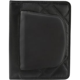 Elleven Jr. Zippered Padfolio for iPad for Your Organization