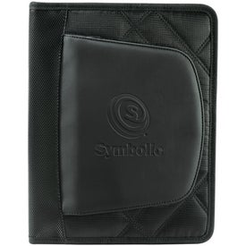 Printed Elleven Jr. Zippered Padfolio for iPad