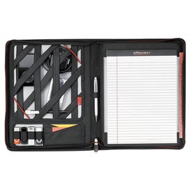 Elleven Zippered Padfolio for iPad with Your Logo