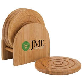 Epure Bamboo Coaster Set