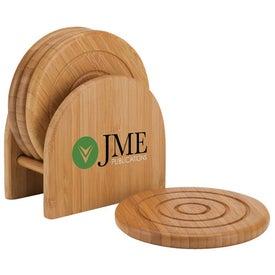 Epure Bamboo Coaster Set