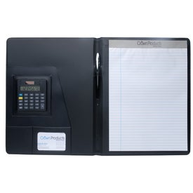 Executive Crescent Calculator Padfolio for Your Organization