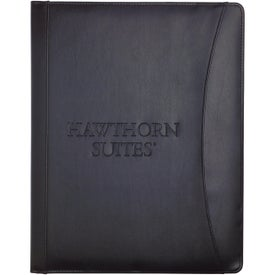 Executive Crescent Padfolio Branded with Your Logo
