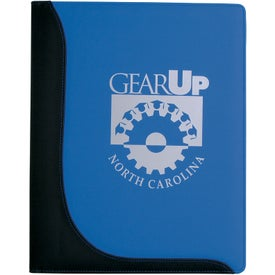 Company Customizable Executive L-Curve Padfolio