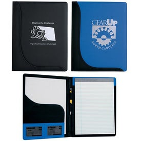 Executive L-Curve Padfolio with Your Slogan