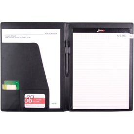 Imprinted Executive Portfolio with PVC Cover