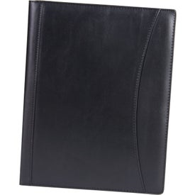 Executive Portfolio with PVC Cover Imprinted with Your Logo