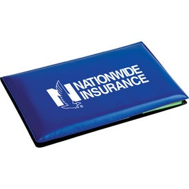 Branded Executive Sticky Note Book with Arrow Flag