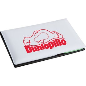 Executive Sticky Note Book with Arrow Flag for Your Company