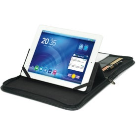 Executive Wired E-Padfolio Printed with Your Logo