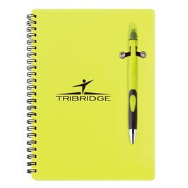 Fame Pen Highlighter Combo Neon Printed with Your Logo