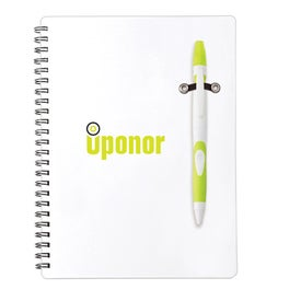 Personalized Fame Pen Highlighter Combo White