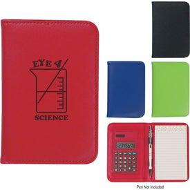 Company Fashion Notebook With Calculator