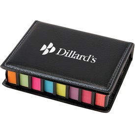 Flag And Sticky Note Pad Caddy for Marketing