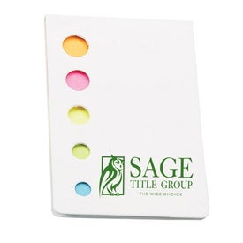 Flag It Adhesive Flags Case for Promotion