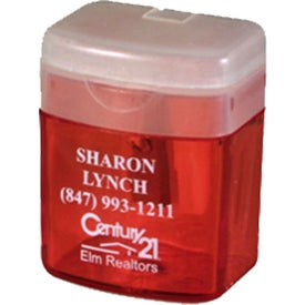 Flip Top Pencil Sharpener Branded with Your Logo