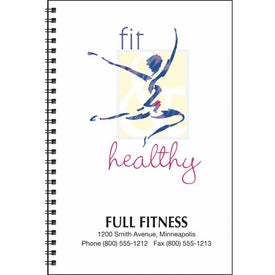 Food and Fitness Journal with Your Logo