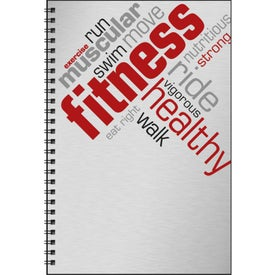 Promotional Food and Fitness Journal