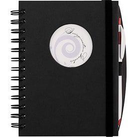 Monogrammed Frame Circle Hardcover Journal Book