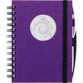 Frame Circle Hardcover Journal Book for Promotion