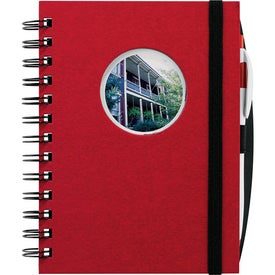 Frame Circle Hardcover Journal Book for Customization