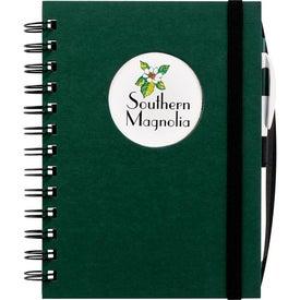 Customized Frame Circle Hardcover Journal Book